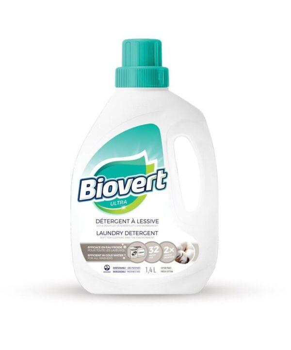 Détergent à lessive BIOVERT 4l