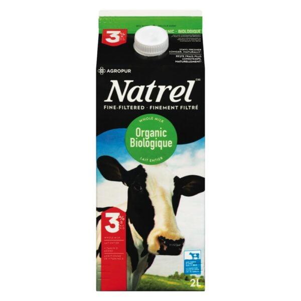 Lait biologique Natrel 2l