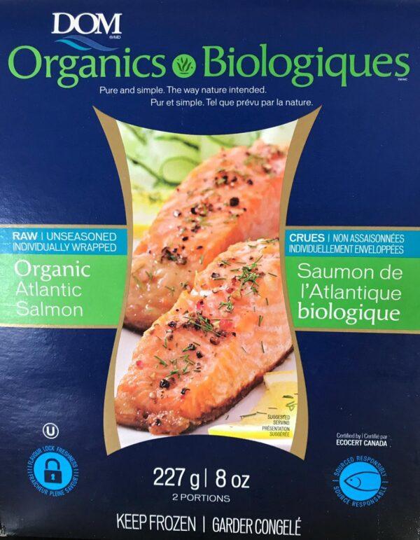 Saumon biologique de l'atlantique